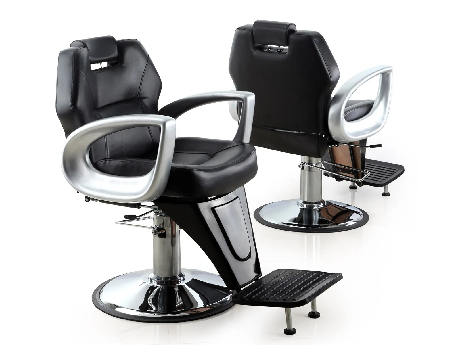Used Salon Chair Our Barbers Chairs Living It Up Salon