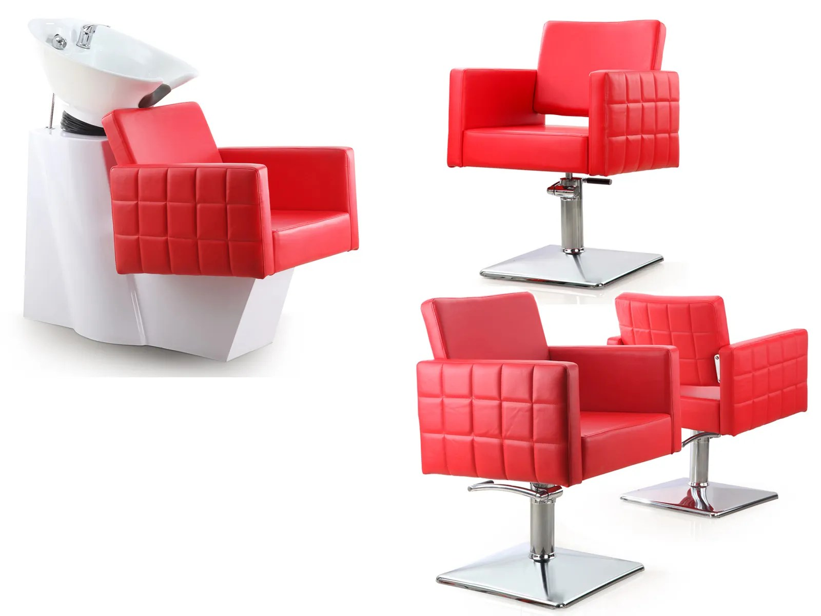 Red Salon Chairs Salon Packages Archives Living It Up Salonsalon Packages