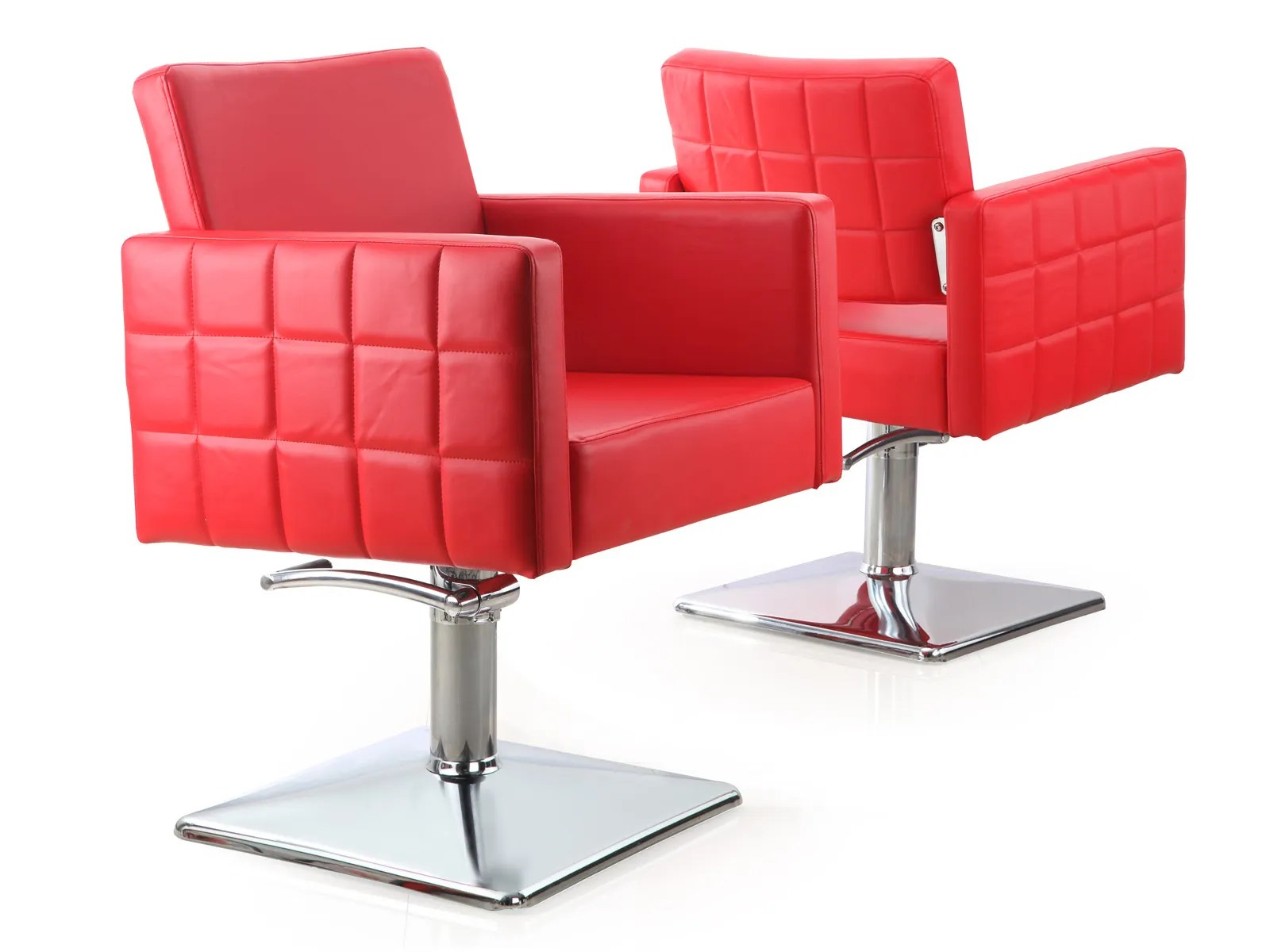 Red Salon Chairs Salon Furniture To Represent Your Style Living It Up Salon