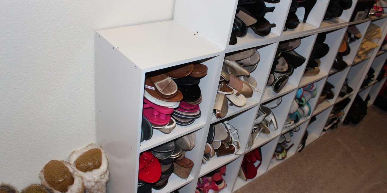 Shoe Organization for the Shoe Hoarder!