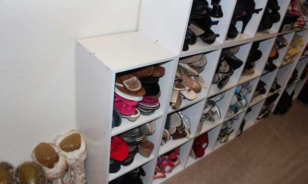 Shoe Organization for the Shoe Hoarder!