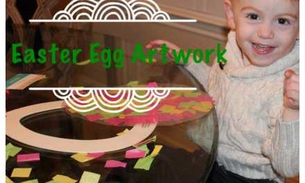 Hanging Easter Artwork