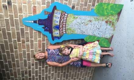 Mema Paints a Castle for Brielle's Birthday