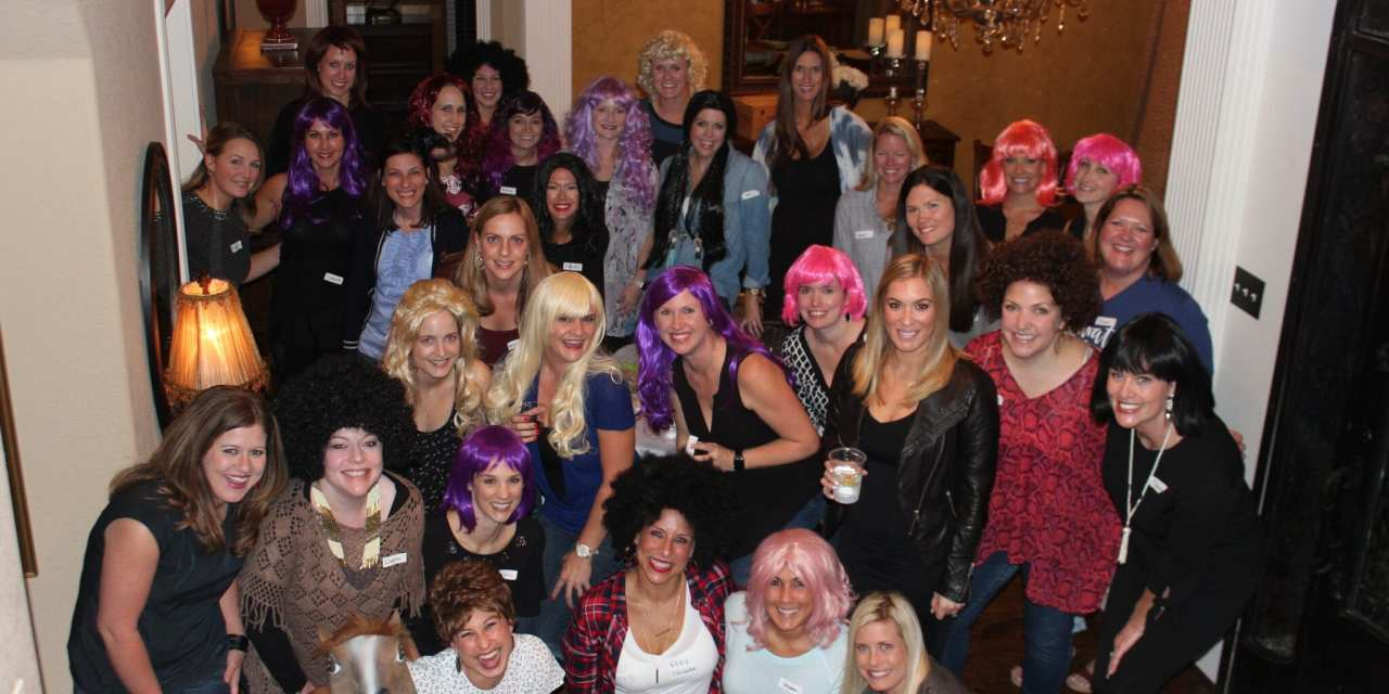 MOPS- Bunco and Wigs
