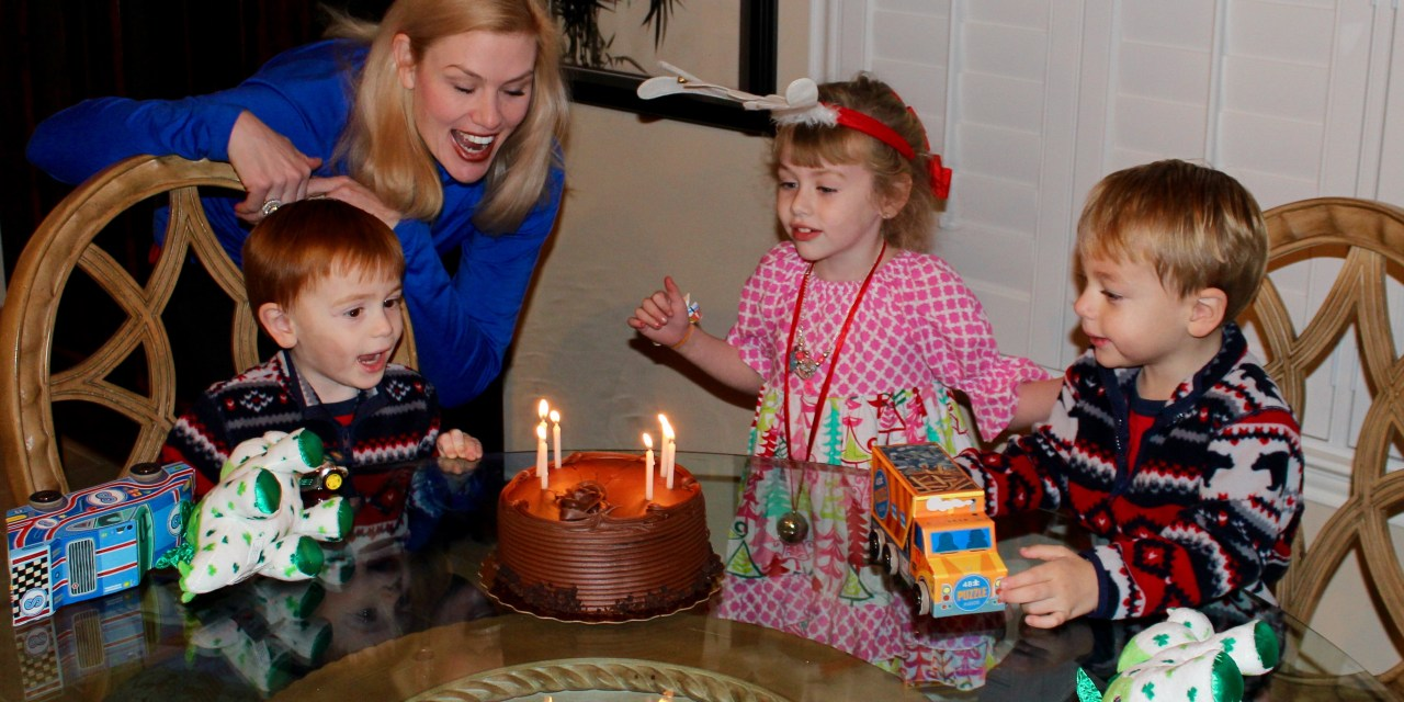 The Twins Turned 3!