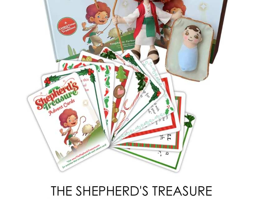 An Elf on the Shelf Alternative that has Meaning: The Shepherd's Treasure