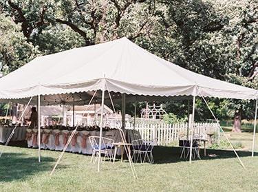 Reception-tent