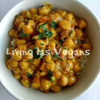 Curry de garbanzos
