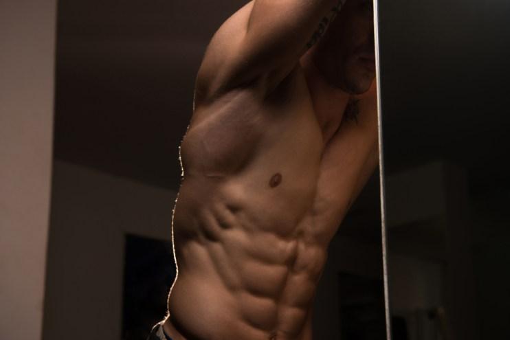 lean muscular body