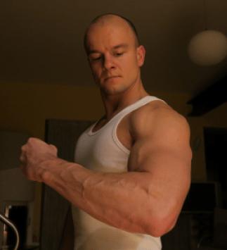 triceps training, big arms