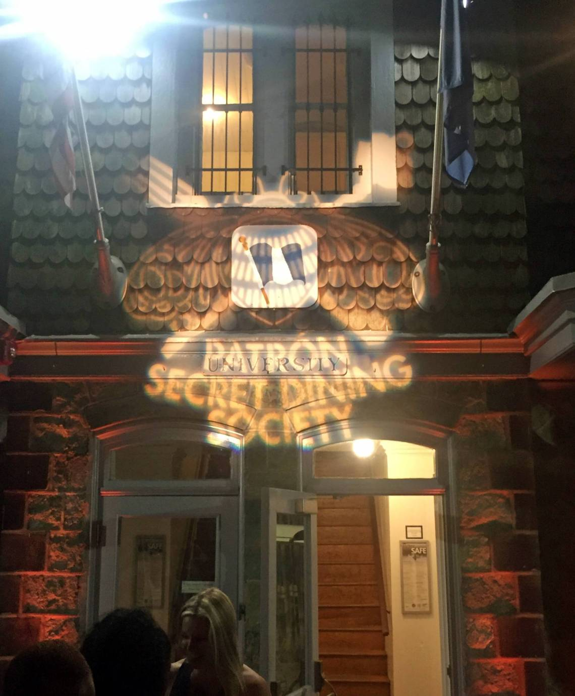 patron secret dining society