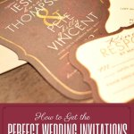 How to Find Your Perfect Wedding Invitations