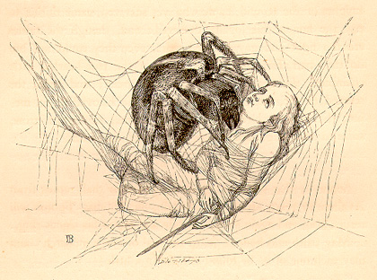 The Spider in Celtic Myth - Living LibraryLiving Library
