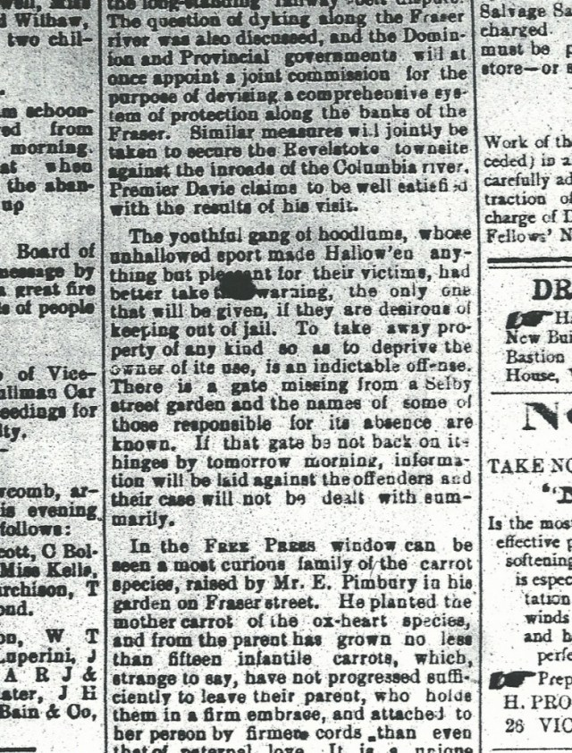 1894 Nanaimo Free Press