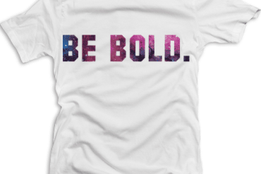 Be Bold Space tee
