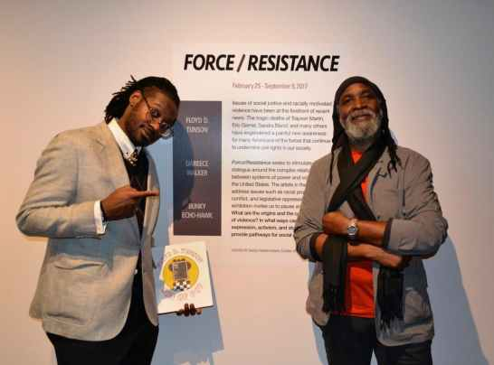 Floyd Tunson and Dáreece Walker - Force/Resistance