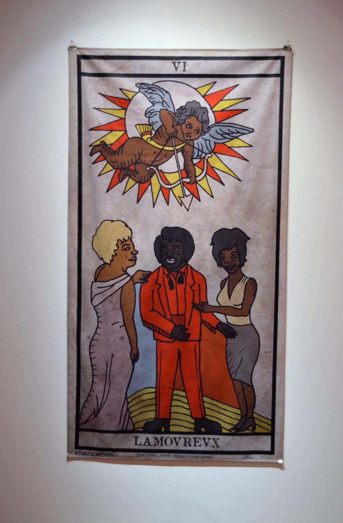 "King Khan and Michael Eaton ""The Black Power Tarot"""