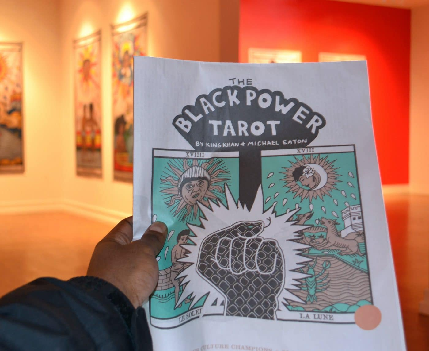 "King Khan and Michael Eaton ""The Black Power Tarot"""