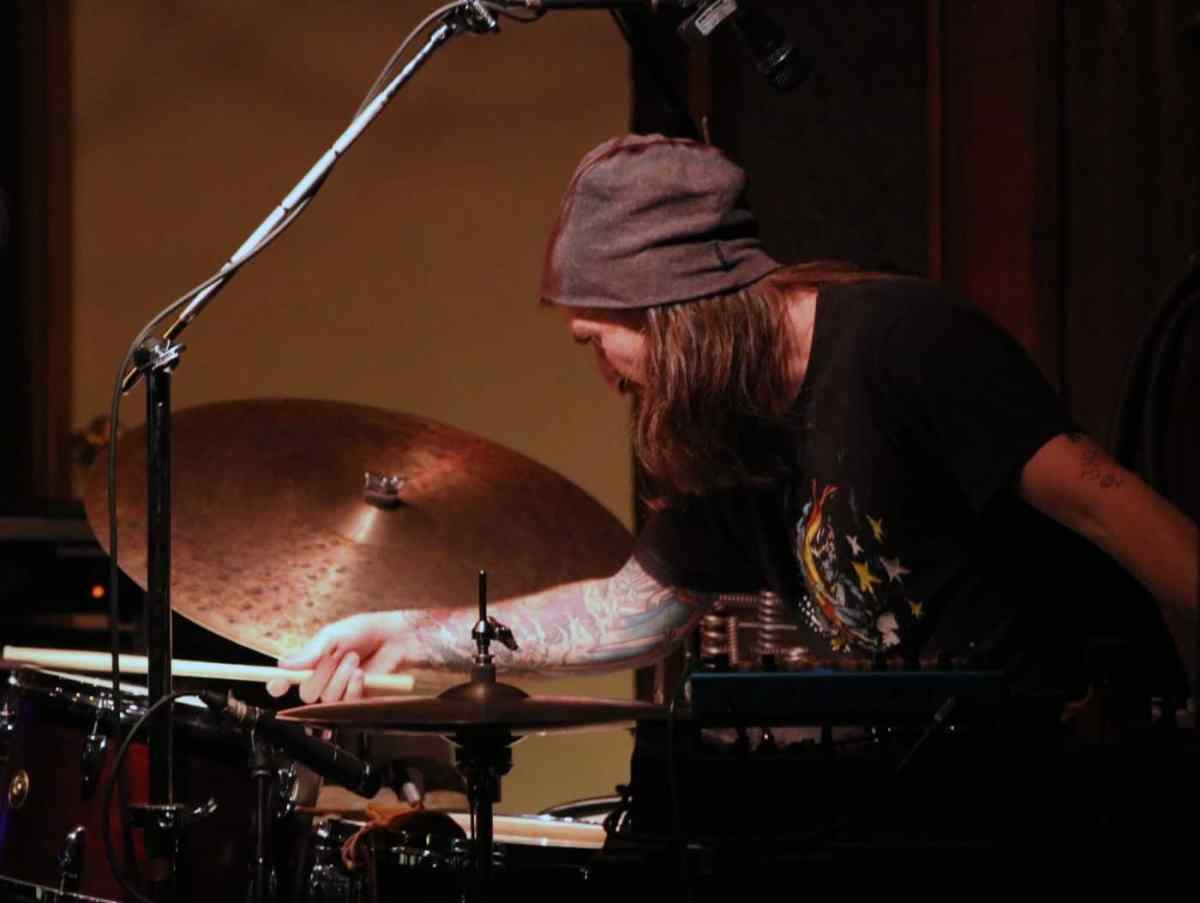Adam Morford of Morfbeats performs with his band Tallgrass. Photo by Argento Studios