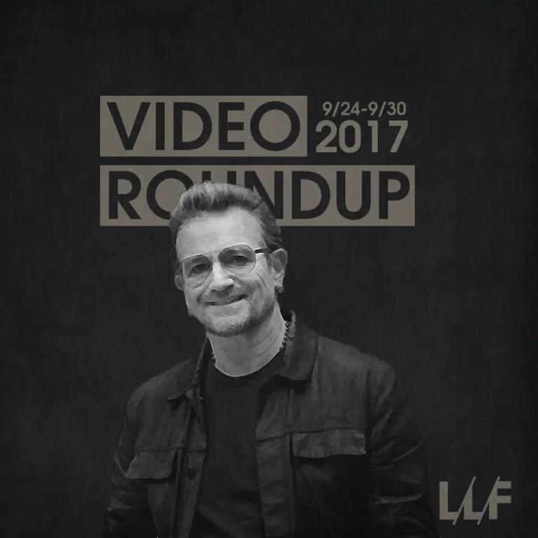 Video Roundup 9/24/17