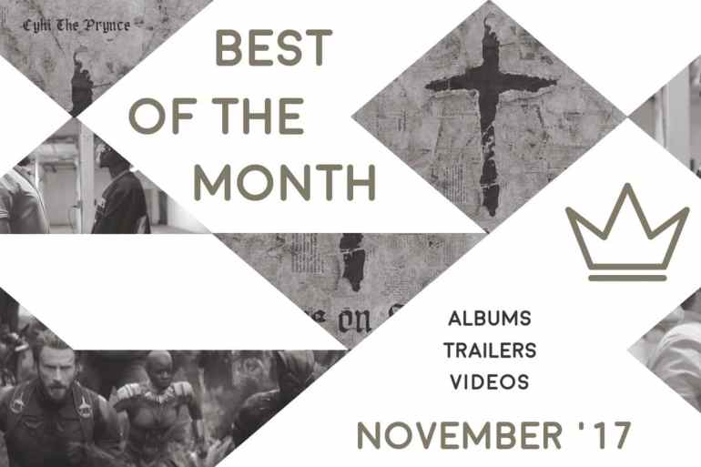Best of the Month: November 2017