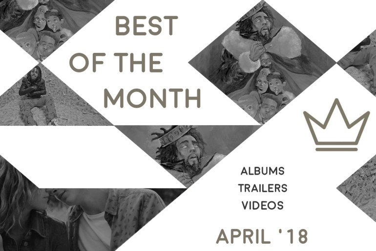 Best of the Month: April 2018   Features   LIVING LIFE FEARLESS
