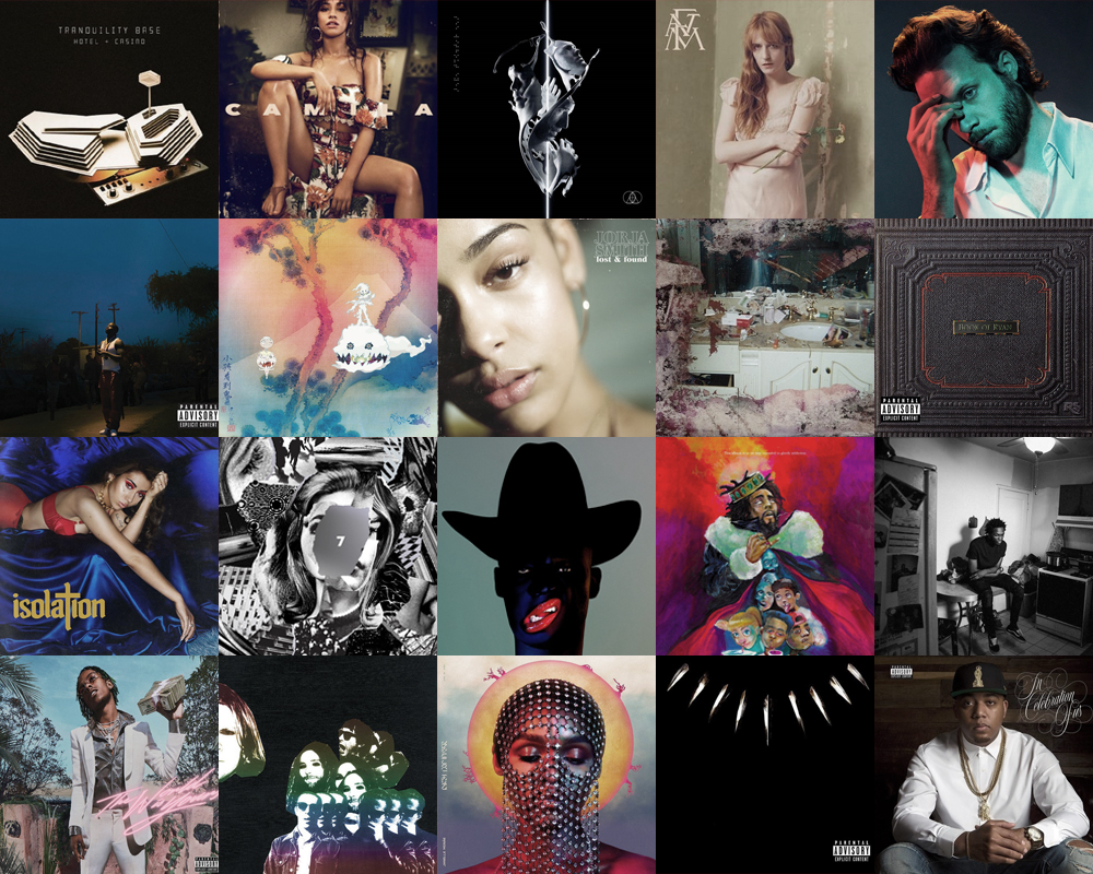 THE Official List Of The Top 20 Albums of the Year...So Far | Features | LIVING LIFE FEARLESS