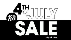 Celebrate 4th of July with 40% Off Everything | Blog | LIVING LIFE FEARLESS