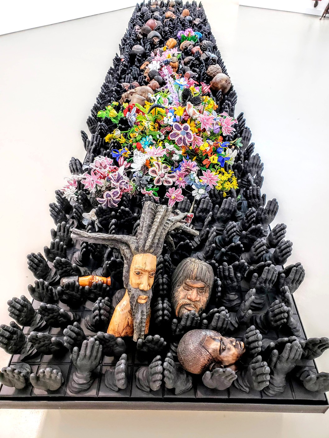"""Nick Cave : """"If A Tree Falls""""   Jack Shainman Gallery   Photos   LIVING LIFE FEARLESS"""