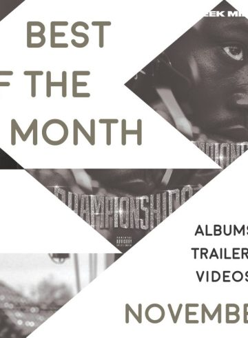 Best of the Month: November 2018   Features   LIVING LIFE FEARLESS