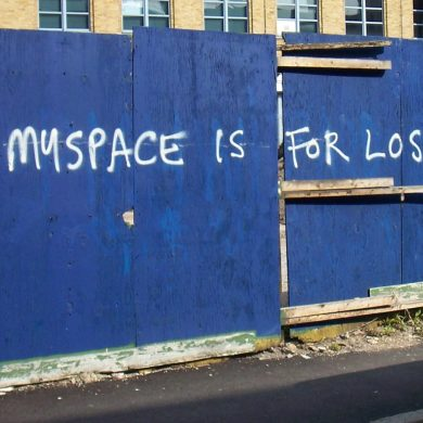 Myspace (yes, they're still around) loses over 50 million songs | News | LIVING LIFE FEARLESS