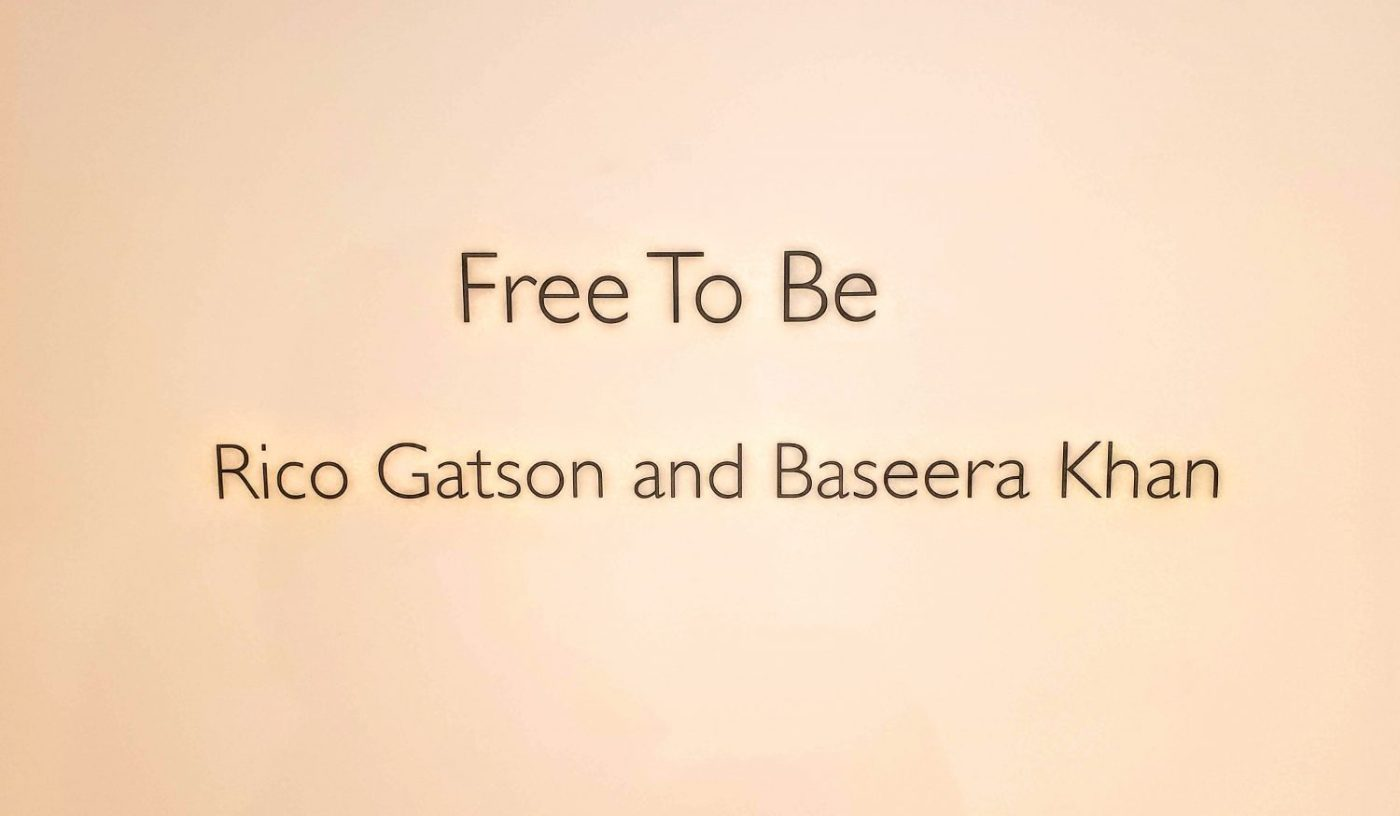 "Rico Gatson & Baseera Khan: ""FREE TO BE"" 