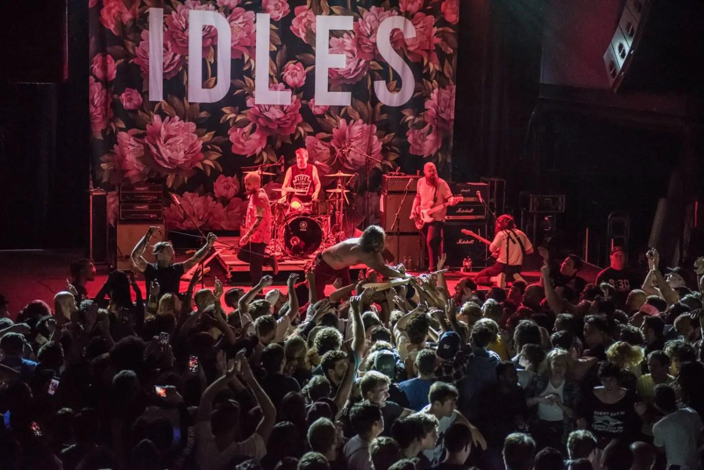 IDLES : 9:30 Club | Photos | LIVING LIFE FEARLESS