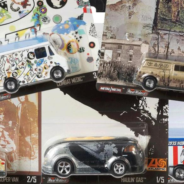 Hot Wheels and Led Zeppelin are joining forces for a special collection | News | LIVING LIFE FEARLESS