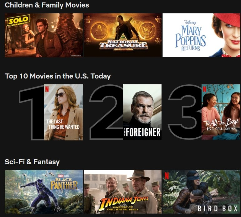 Netflix adds popular show rankings | News | LIVING LIFE FEARLESS