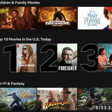 Netflix adds popular show rankings | News | LIVING LIFE FEARLESS