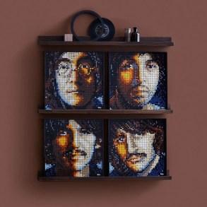 The Beatles get their own 'Art Mosaic' LEGO set   News   LIVING LIFE FEARLESS