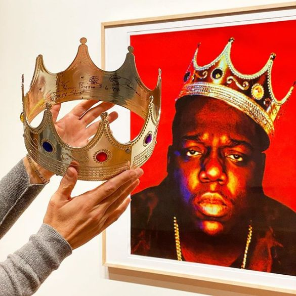 THAT iconic Notorious B.I.G. crown just sold for almost $600,000   News   LIVING LIFE FEARLESS