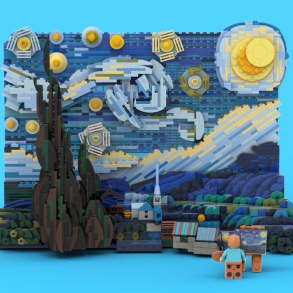 LEGO is producing a Vincent van Gogh 'Starry Night' set | News | LIVING LIFE FEARLESS