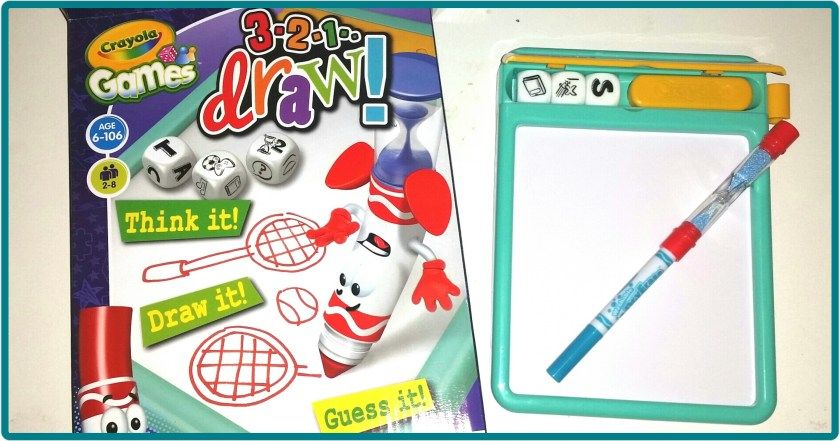 3 2 1 Draw, Crayola Draw, creative, drawing, game, review