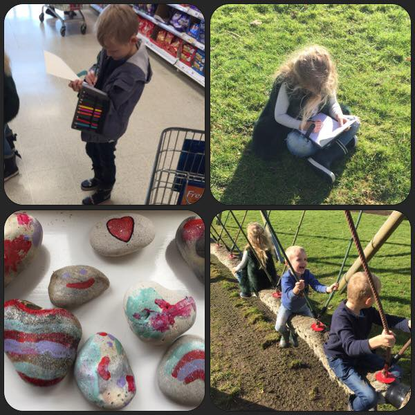 100 Days of Home Ed #LoveHomeEd – Day 16 (Growing Rainbows)