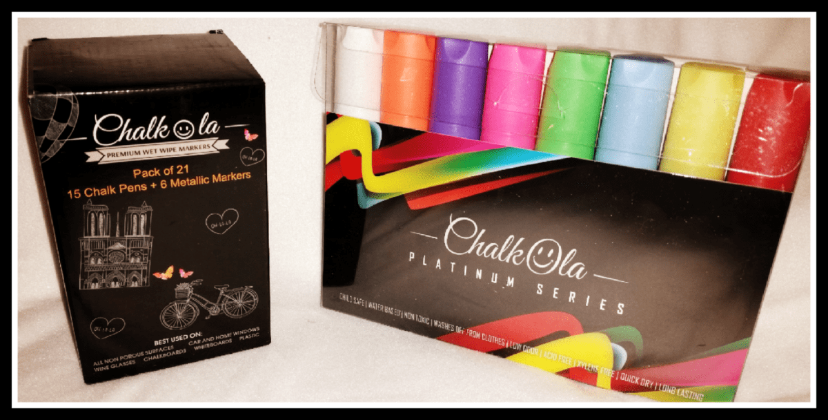 Chalkola Chalk Markers: Review, Discount and Giveaway
