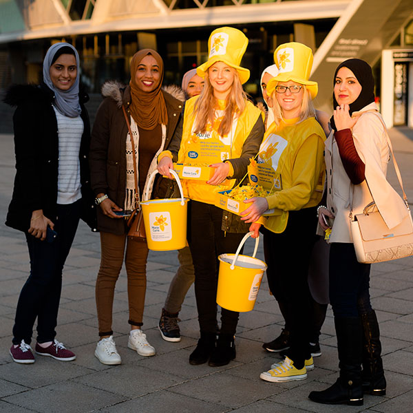 The Great Daffodil Appeal, Marie Curie, fundraising, charity