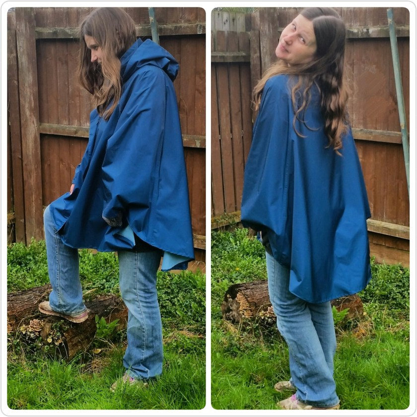 November Rain, poncho, eco, clothing, giveaway, green living, lifestyle, outdoors, review, Living Life Our Way