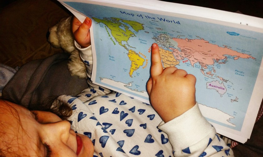 Geography, maps, continents, #100daysofhomeed, #LoveHomeEd, 100 days of home ed, activities at home, freedom to learn, Home Education