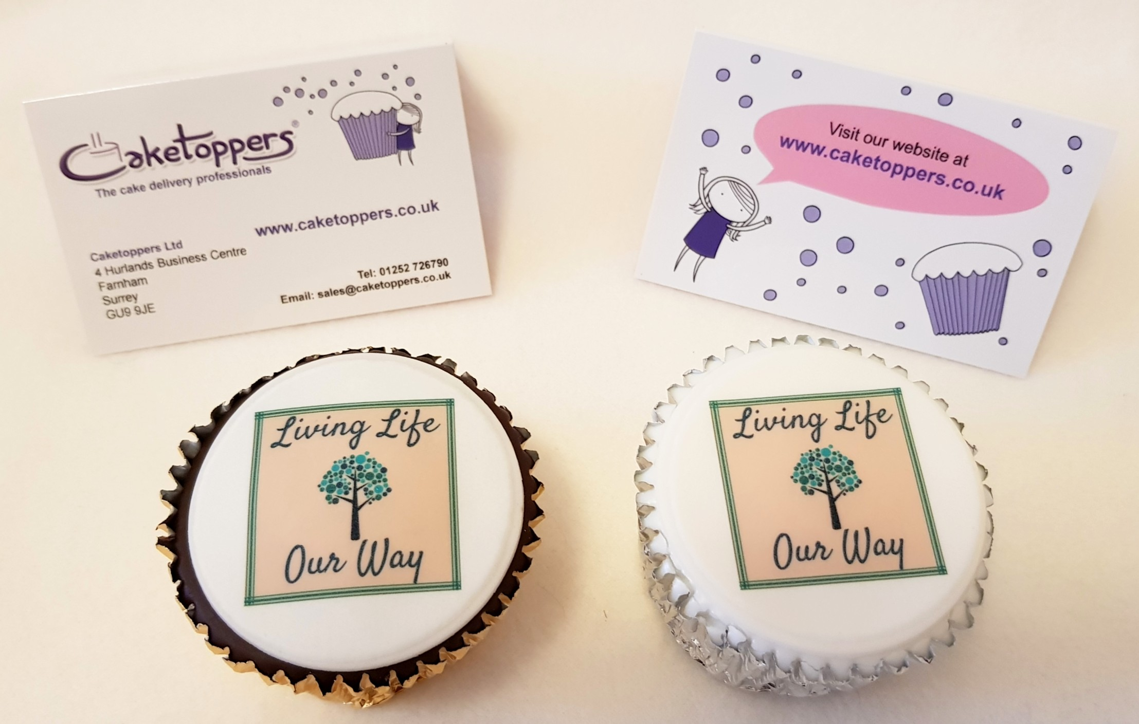 CakeToppers - Personalised Cakes: Review and Giveaway - Living Life ...