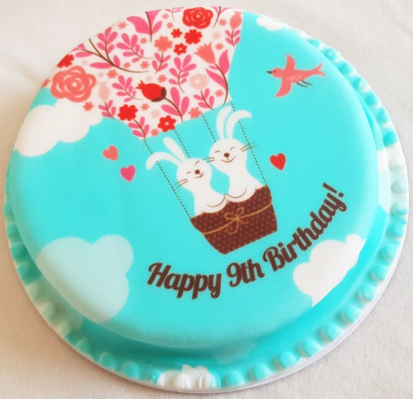 Bakerdays, letterbox cake, birthday cake, celebration, special occasion, cake, gift ideas, food, review, competition, giveaway, Living Life Our Way