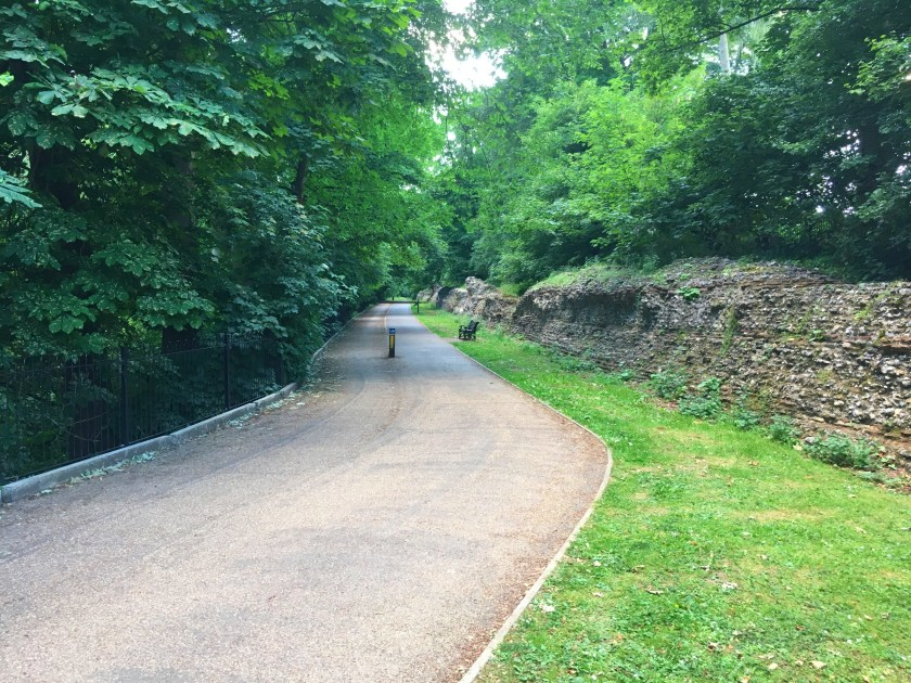 #cyclingadventures, InnTravel, slow holidays, cycling, cycle route, Verulamium Park, St Albans, Hertfordshire, historical, Romans, history, The London Gate, active lifestyle, wellbeing, outdoors, get outside