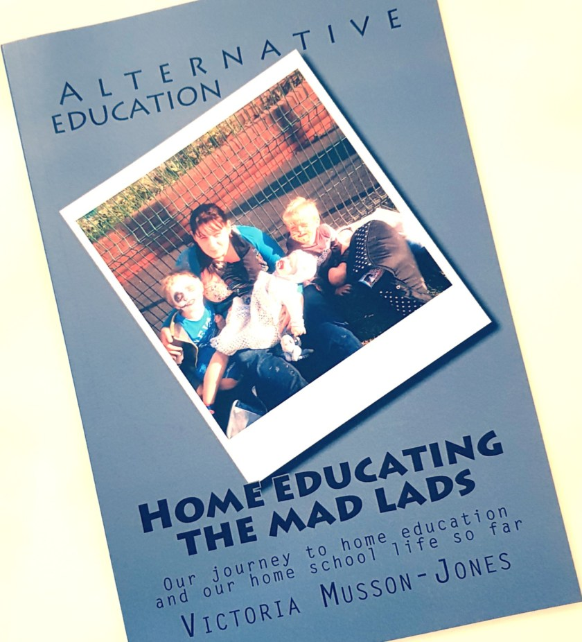 Home education, freedom to learn, #lovehomeed, 100 days of home education, book, review, author, Home Educating The Mad Lads