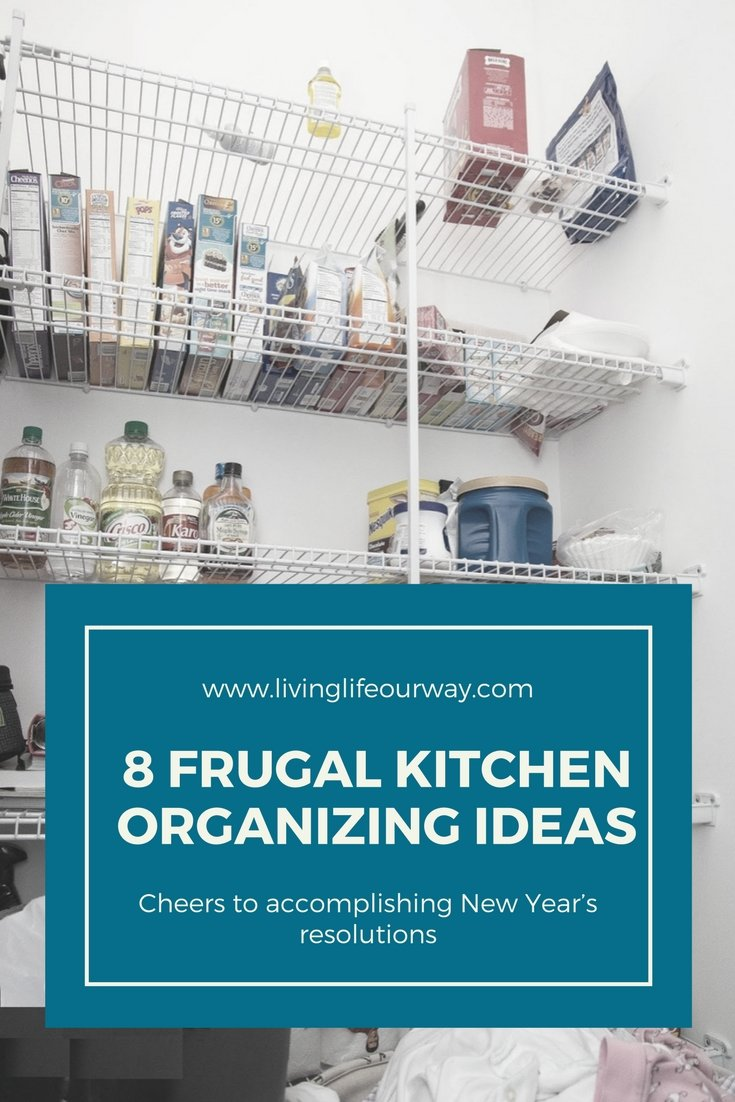 8 Frugal Ways To Organise Your Kitchen